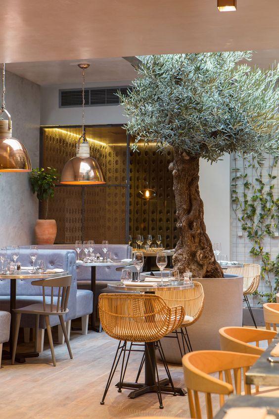 Arredamento ristorante design ristoranti dalle panetterie for Ristorante arredamento